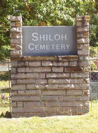 *SHILOH CEMETERY, SIGN - Garland County, Arkansas | SIGN *SHILOH CEMETERY - Arkansas Gravestone Photos