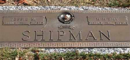"SHIPMAN, H. H. ""BILL"" - Garland County, Arkansas | H. H. ""BILL"" SHIPMAN - Arkansas Gravestone Photos"