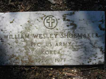 SHOEMAKER (VETERAN KOR), WILLIAM WESLEY - Garland County, Arkansas | WILLIAM WESLEY SHOEMAKER (VETERAN KOR) - Arkansas Gravestone Photos