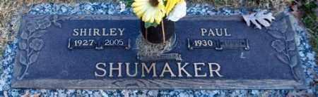 SHUMAKER, SHIRLEY VIRGINIA - Garland County, Arkansas | SHIRLEY VIRGINIA SHUMAKER - Arkansas Gravestone Photos