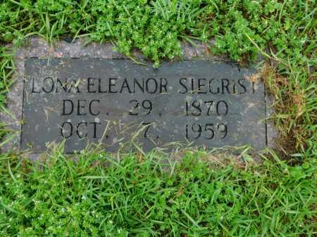 SIEGRIST, LONA ELEANOR - Garland County, Arkansas | LONA ELEANOR SIEGRIST - Arkansas Gravestone Photos