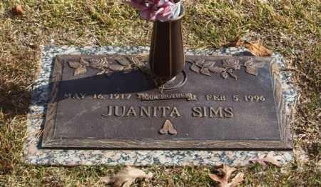 SIMS, JUANITA - Garland County, Arkansas | JUANITA SIMS - Arkansas Gravestone Photos