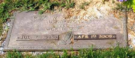 SINDLINGER (VETERAN WWII), REX W - Garland County, Arkansas | REX W SINDLINGER (VETERAN WWII) - Arkansas Gravestone Photos