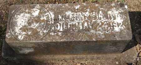 SINGLETON, ANDERSON - Garland County, Arkansas | ANDERSON SINGLETON - Arkansas Gravestone Photos