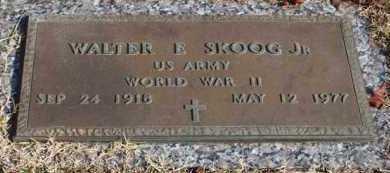 SKOOG, JR (VETERAN WWII), WALTER E - Garland County, Arkansas   WALTER E SKOOG, JR (VETERAN WWII) - Arkansas Gravestone Photos