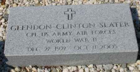 SLATER (VETERAN WWII), GLENDON CLINTON - Garland County, Arkansas | GLENDON CLINTON SLATER (VETERAN WWII) - Arkansas Gravestone Photos