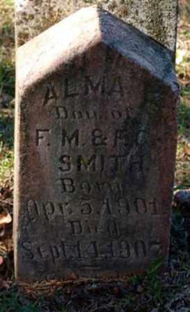SMITH, ALMA - Garland County, Arkansas | ALMA SMITH - Arkansas Gravestone Photos