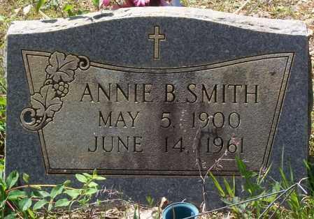 SMITH, ANNIE B. - Garland County, Arkansas | ANNIE B. SMITH - Arkansas Gravestone Photos