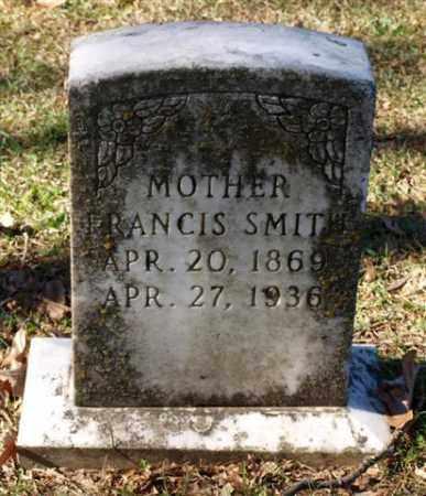 SMITH, FRANCIS - Garland County, Arkansas | FRANCIS SMITH - Arkansas Gravestone Photos