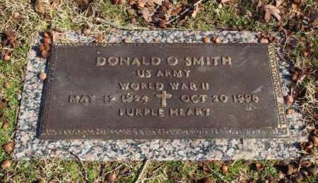 SMITH (VETERAN WWII), DONALD O - Garland County, Arkansas | DONALD O SMITH (VETERAN WWII) - Arkansas Gravestone Photos