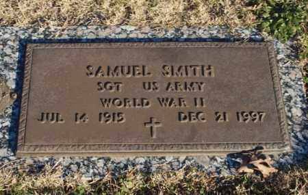 SMITH (VETERAN WWII), SAMUEL - Garland County, Arkansas | SAMUEL SMITH (VETERAN WWII) - Arkansas Gravestone Photos