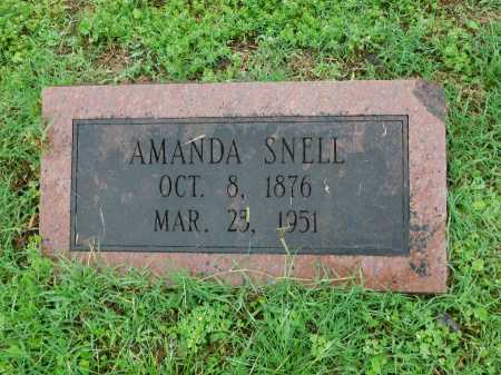 SNELL, AMANDA - Garland County, Arkansas   AMANDA SNELL - Arkansas Gravestone Photos