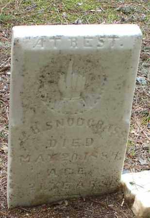 SNODGRASS, JOHN H. - Garland County, Arkansas   JOHN H. SNODGRASS - Arkansas Gravestone Photos