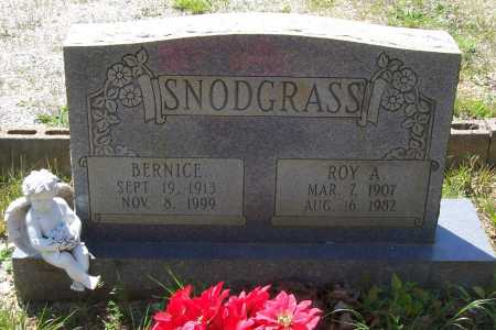 SNODGRASS, BERNICE - Garland County, Arkansas | BERNICE SNODGRASS - Arkansas Gravestone Photos