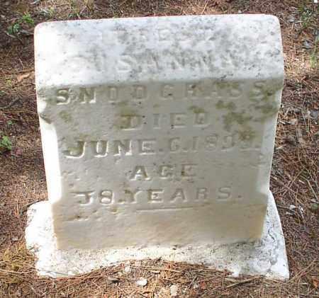 TATE SNODGRASS, SUSANNA - Garland County, Arkansas | SUSANNA TATE SNODGRASS - Arkansas Gravestone Photos
