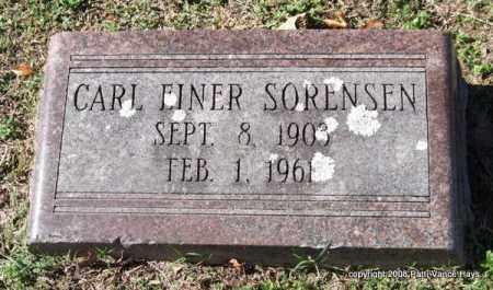 SORENSEN, CARL EINER - Garland County, Arkansas | CARL EINER SORENSEN - Arkansas Gravestone Photos