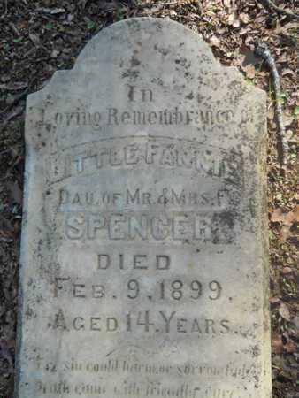 SPENCER, FANNIE (CLOSE UP) - Garland County, Arkansas   FANNIE (CLOSE UP) SPENCER - Arkansas Gravestone Photos