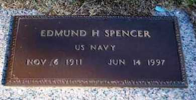 SPENCER (VETERAN), EDMUND H - Garland County, Arkansas | EDMUND H SPENCER (VETERAN) - Arkansas Gravestone Photos