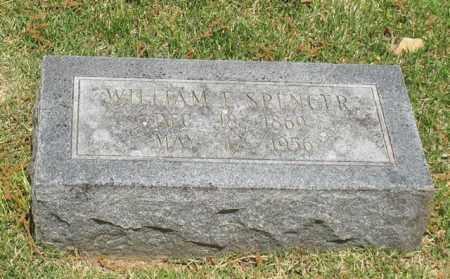 SPENCER, WILLIAM E. - Garland County, Arkansas   WILLIAM E. SPENCER - Arkansas Gravestone Photos