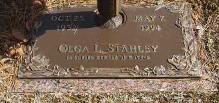 STAHLEY, OLGA L - Garland County, Arkansas | OLGA L STAHLEY - Arkansas Gravestone Photos