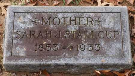 STALLCUP, SARAH J. - Garland County, Arkansas | SARAH J. STALLCUP - Arkansas Gravestone Photos