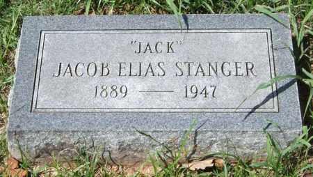 "STANGER, JACOB ELIAS ""JACK"" - Garland County, Arkansas   JACOB ELIAS ""JACK"" STANGER - Arkansas Gravestone Photos"