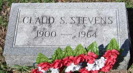 STEVENS, CLAUD S. - Garland County, Arkansas   CLAUD S. STEVENS - Arkansas Gravestone Photos