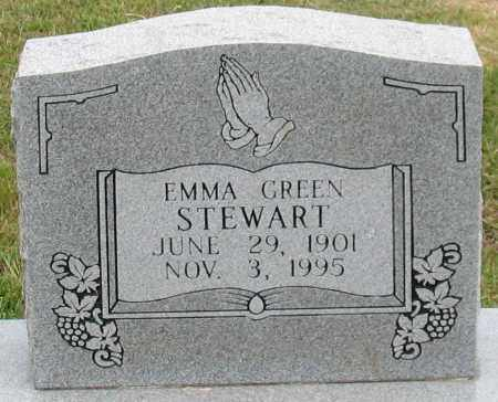 GREEN STEWART, EMMA - Garland County, Arkansas | EMMA GREEN STEWART - Arkansas Gravestone Photos