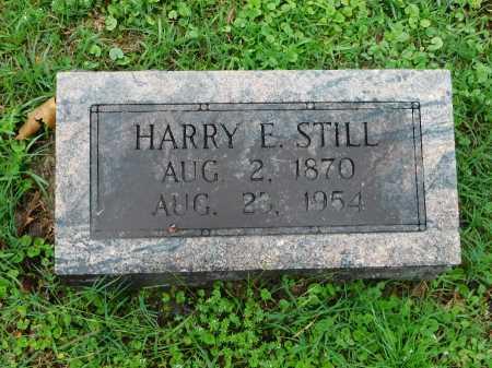 STILL, HARRY E. - Garland County, Arkansas   HARRY E. STILL - Arkansas Gravestone Photos