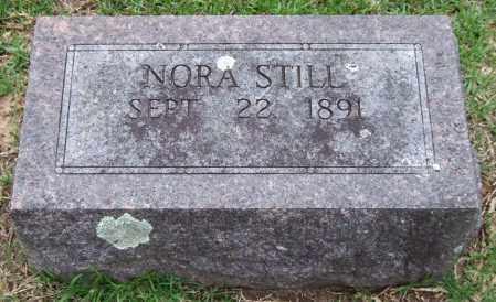 STILL, NORA - Garland County, Arkansas   NORA STILL - Arkansas Gravestone Photos