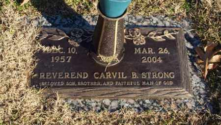 STRONG, CARVIL B. - Garland County, Arkansas | CARVIL B. STRONG - Arkansas Gravestone Photos