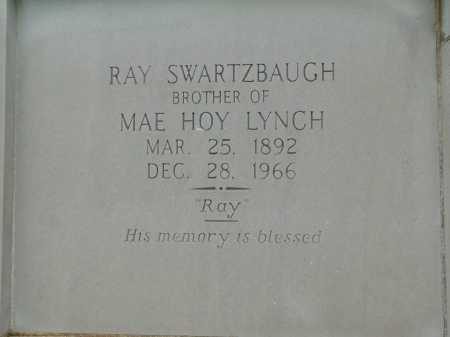 SWARTZBAUGH, RAY - Garland County, Arkansas | RAY SWARTZBAUGH - Arkansas Gravestone Photos