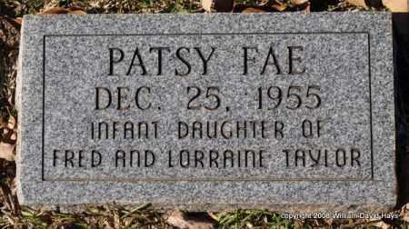 TAYLOR, PATSY FAE - Garland County, Arkansas   PATSY FAE TAYLOR - Arkansas Gravestone Photos