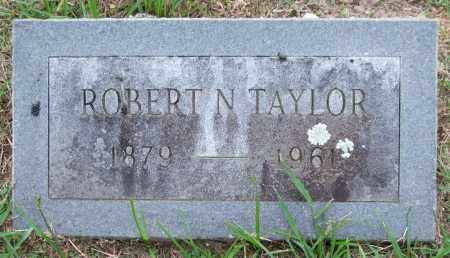 TAYLOR, ROBERT N. - Garland County, Arkansas   ROBERT N. TAYLOR - Arkansas Gravestone Photos