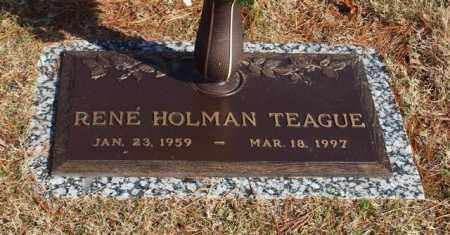 HOLMAN TEAGUE, RENE - Garland County, Arkansas | RENE HOLMAN TEAGUE - Arkansas Gravestone Photos