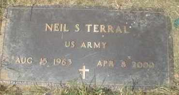 TERRAL (VETERAN), NEIL S - Garland County, Arkansas   NEIL S TERRAL (VETERAN) - Arkansas Gravestone Photos