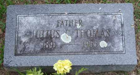 THOMAS, JULIUS CARL - Garland County, Arkansas   JULIUS CARL THOMAS - Arkansas Gravestone Photos