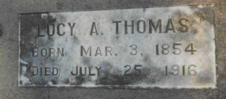 THOMAS, LUCY A - Garland County, Arkansas | LUCY A THOMAS - Arkansas Gravestone Photos