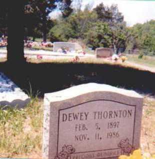 THORNTON, DEWEY LAFAYETTE - Garland County, Arkansas | DEWEY LAFAYETTE THORNTON - Arkansas Gravestone Photos