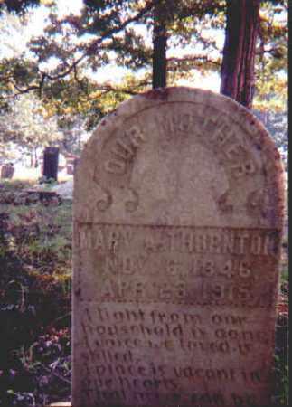 THORNTON, MARY ANGELINE - Garland County, Arkansas | MARY ANGELINE THORNTON - Arkansas Gravestone Photos