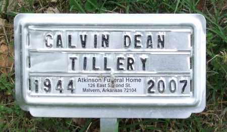 TILLERY, CALVIN DEAN - Garland County, Arkansas | CALVIN DEAN TILLERY - Arkansas Gravestone Photos