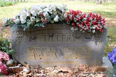 TILLERY, BERTHA A. - Garland County, Arkansas | BERTHA A. TILLERY - Arkansas Gravestone Photos