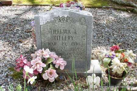 TILLERY, THELMA L. - Garland County, Arkansas   THELMA L. TILLERY - Arkansas Gravestone Photos