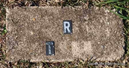 TODD, R. - Garland County, Arkansas | R. TODD - Arkansas Gravestone Photos