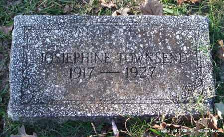 TOWNSEND, JOSIEPHINE - Garland County, Arkansas | JOSIEPHINE TOWNSEND - Arkansas Gravestone Photos