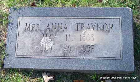 TRAYNOR, ANNA - Garland County, Arkansas | ANNA TRAYNOR - Arkansas Gravestone Photos