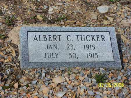 TUCKER, ALBERT C - Garland County, Arkansas | ALBERT C TUCKER - Arkansas Gravestone Photos