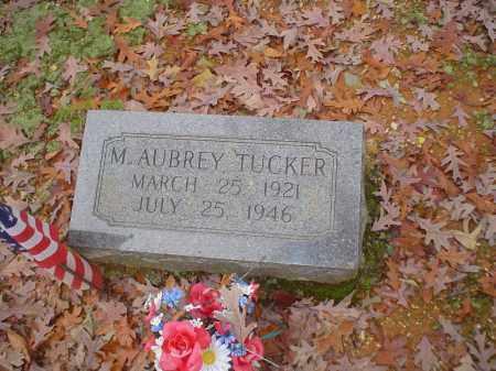 TUCKER, M. AUBREY - Garland County, Arkansas | M. AUBREY TUCKER - Arkansas Gravestone Photos