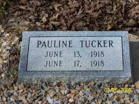 TUCKER, PAULINE - Garland County, Arkansas | PAULINE TUCKER - Arkansas Gravestone Photos
