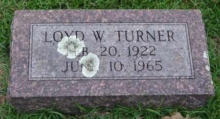 TURNER, LOYD W. - Garland County, Arkansas | LOYD W. TURNER - Arkansas Gravestone Photos